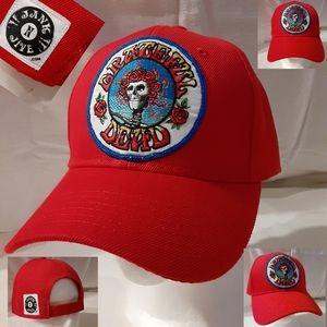 Grateful Dead hat, Bertha Skeleton hat